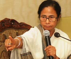 Mamata claims country reeling under super emergency 5 years BJP hits back