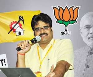 TDP national spokesperson Lanka Dinakar quits party; joins BJP