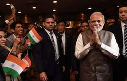Slogans raised Vande Mataram and Jai Sri Ram raised at community event in japan in presence of PM modi