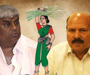 Is minister Revanna taking control of Karnataka JDS through proxy president HK Kumaraswamy?