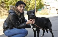 nina and her dog