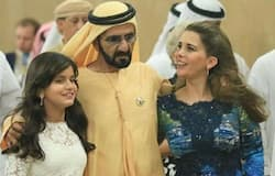 had a haya affair with someone after going on bad relation with Sheikh Mohammed bin Rashid
