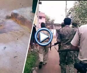 Clash between TMC leader and BJP in Birbhum