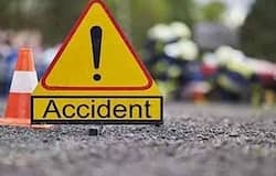 12 people die onspot in a futal road accident in gujarat