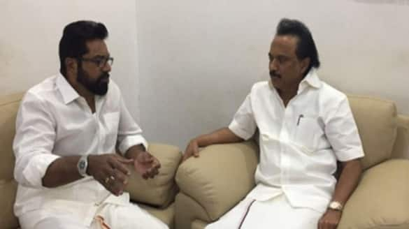 Stalin will do better in the corona crisis .. Sarathkumar went home and congratulated.