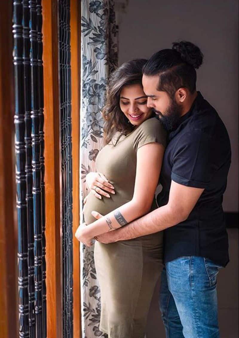 Disha Madan sharing a cute moment with her husband Shashank Vasuki Gopal