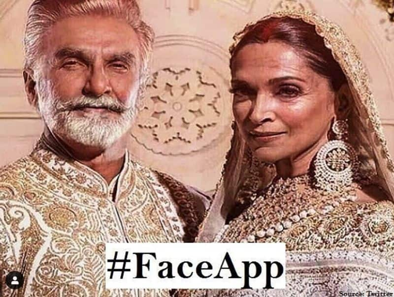 Well, well, well, for the final one. The recently married couple and one of Bollywood's favourite pair looks brilliant in their wedding attire, but slightly aged. So, this is how they would have looked in their wedding pictures if they married later in life.