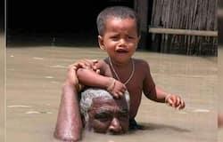 Rahul Gandhi trolled for sharing fake photos of assam flood