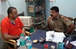 accused of his wife alok singh reached at police station inspector offer him for snack, transferred