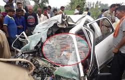 Road accident in pilibhit uttar pradesh