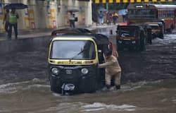 heavy rains in mumbai, red alert in the city