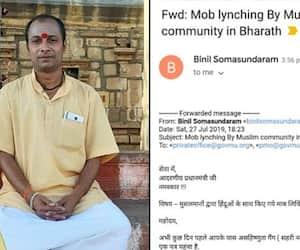 Jai Shri Ram crimes hit headlines Keralite writes PM emphasising mob lynching cases against Hindus