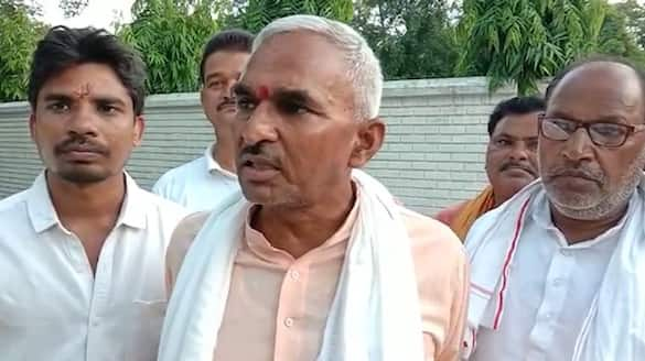 BJP MLA Surendra Singh gives demo video for drinking cow urine to protect from corona virus