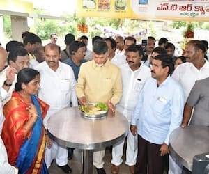 Food for thought: While poor suffer; TDP, YSRCP clash over Anna Canteens in Andhra Pradesh