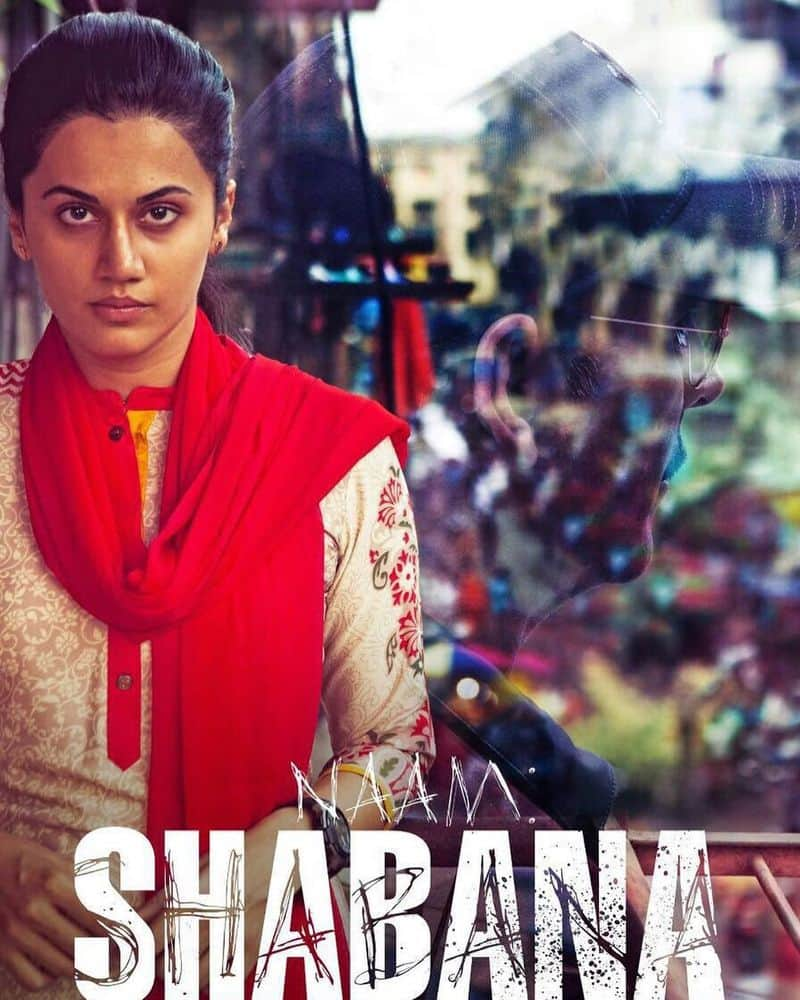 After Baby, Tapsee cast in female lead film Naam Shabana, the prequel of Akshay Kumar starrer Baby. The film was so powerful that just a day after its release in Pakistan, the film was banned in the country. Tapsee's acting as a recruit of secret agency, action sequences and conviction won critical acclaim and was considered an asset to Bollywood.