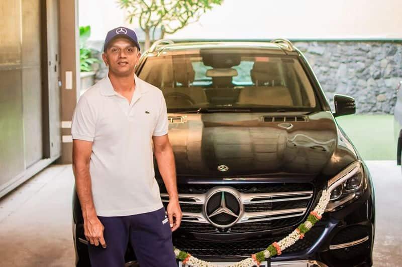 Team India u19 coach Rahul dravid bought mercedes Benz GLE car