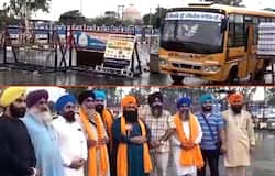 Pakistan Sikh devotees reach India