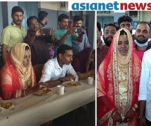 Kerala: Flood relief camp in Wayanad turns wedding venue as couple ties knot