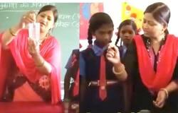 a teacher teaches its children in school in innovative ways