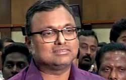 karthi chidambaram crying about his fathers arrest