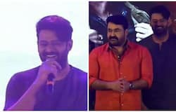 Prabhas and mohanlal in saaho movie promotion