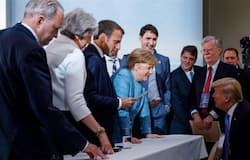 जी 7 समूह देशों का सम्मेलन फ्रांस में हो रहा है। इस सम्मेलन में विशेष तौर पर भारत को अमंत्रित किया गया है।