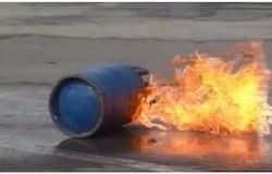 <p>gas cylinder</p>