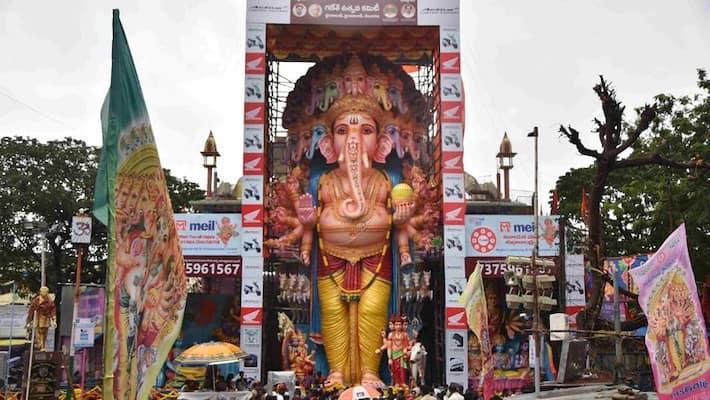 Khairatabad set to honour Ganesha with 750 kg laddu