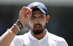 Ishant Sharma reached the big landmark in the 47th over of West Indies second Test