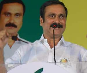 Anbumani humiliated himself  on the stage!?