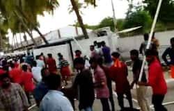 thiruppur company attack by hindu munnanai