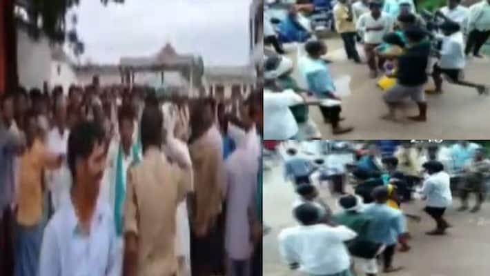 urea suffering problem in telangana: woman farmer unconscious at nizamabad