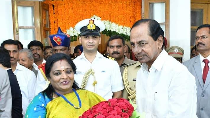 governor soundara rajan  addressed to the people of Telangana