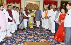 BjP leaders with Tamilisai