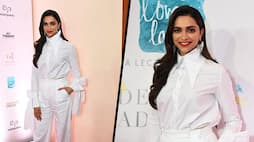 Deepika in white