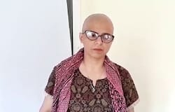 Unhappy over the arrest of father's killers, a Sikh woman shaved her hairs