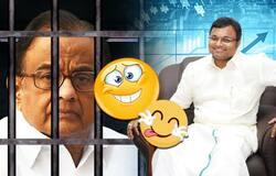 Chidambaram meme banner