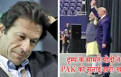 Modi gives reply to Pakistan Prime Minister Imran Khan in front of President Donald Trump in Howdy  Modi