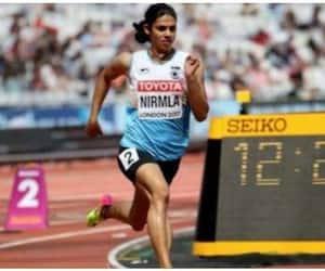 niramala sheron failes  in doping test
