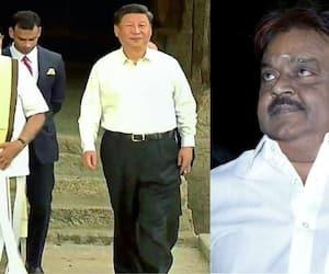 vijayakanth proved Modi's wear tamilian traditional dress