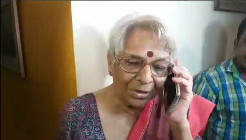 Mother reaction about Abhijit