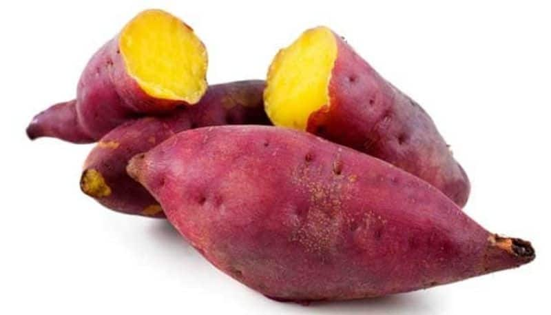 Sweet potatoes help to reduce fat and also have lots of health benefits