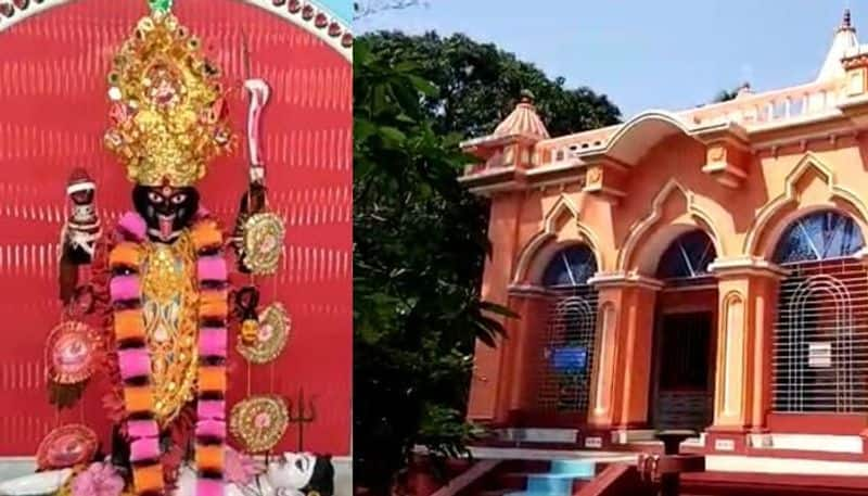 500 years kali mandir is the main attraction of Basirhat today