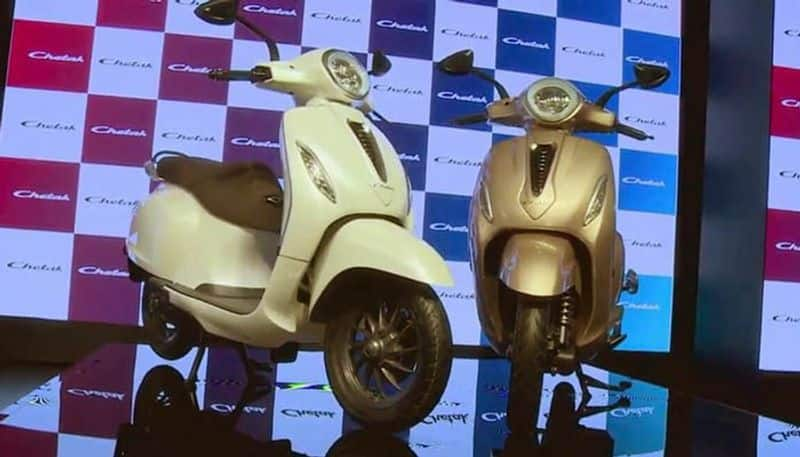 bajaj launches chetak electric scooter 2020 today