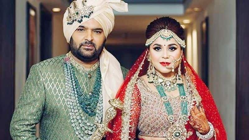 Kapil Sharma – Ginni Chatrath: Ace comedian Kapil Sharma tied the knot with longtime girlfriend Ginni Chatrath on December 12, 2018. They hosted several parties for the industry people later.