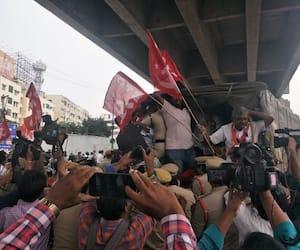 BJP condemns CPM's protest, says party has no right to judge economic progress