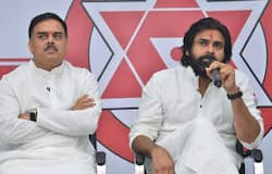 Nadendla Manohar and Pawan Kalyan