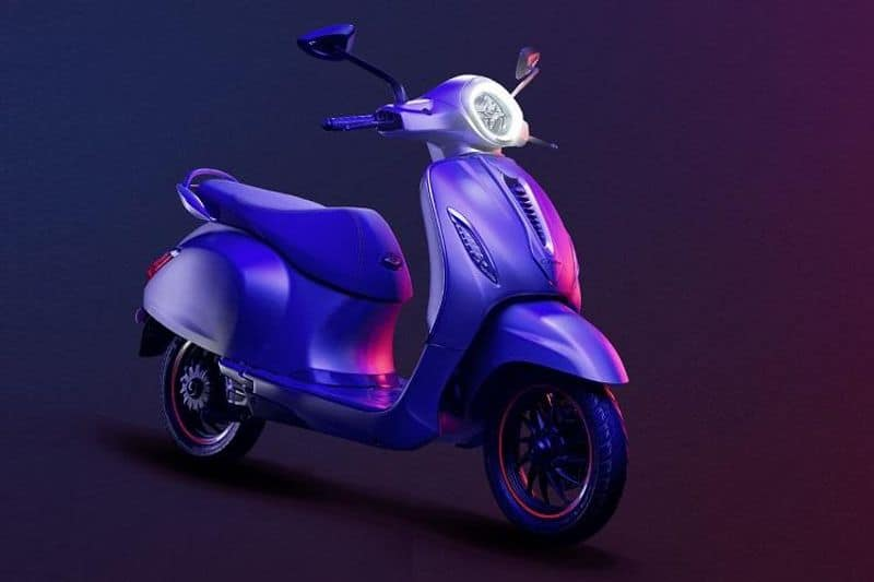 Bajaj Chetak Electric Scooter Launched in India
