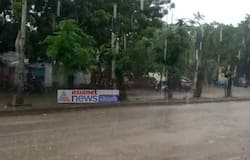 kcr bahiranga sabha cancelled due to heavy rain in huzurnagar