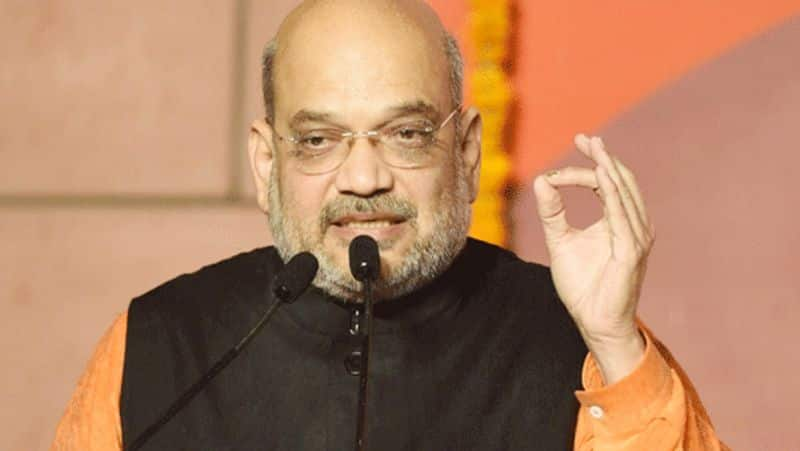 Home minister Amit Shah stresses on rewriting Indian history